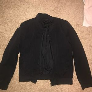 Black bomber jacket from brandy
